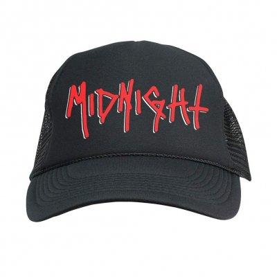 midnight - Two Tone Logo Foam Trucker Hat