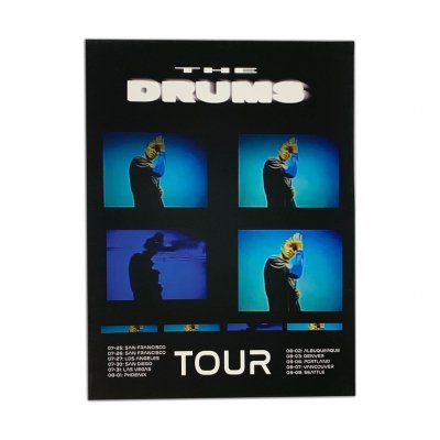 the-drums - Panels 2019 Tour Print