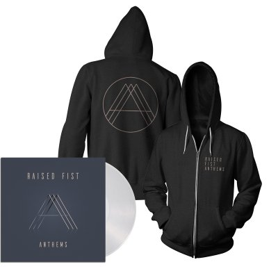 epitaph-records - Anthems LP (Clear) + Hoodie (Black) Bundle