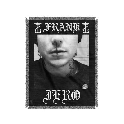 frank-iero - Bloody Nose Woven Blanket