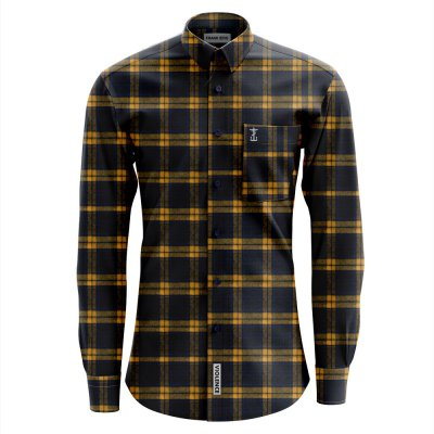 frank-iero - Cross Embroidered Flannel