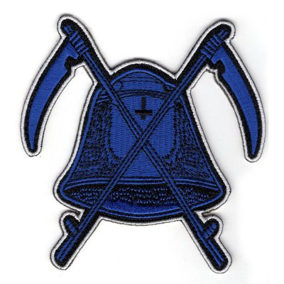 midnight - Bell Die Cut Patch (Blue)
