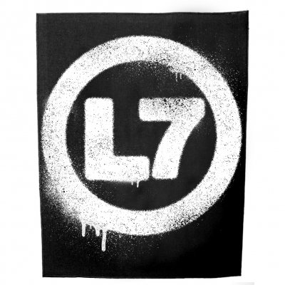 L7 Spray Logo Back Patch