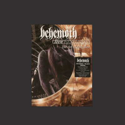 behemoth - Live Eschaton: The Art Of Rebellion DVD/CD