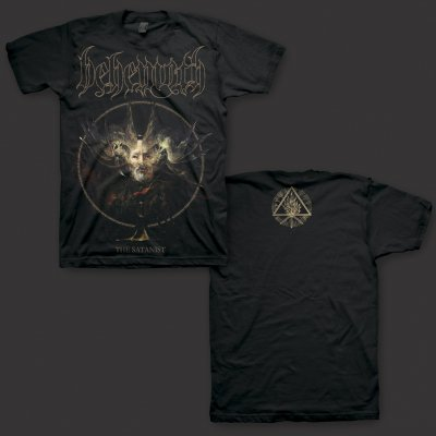 behemoth - The Satanist Cover Art T-Shirt (Black)