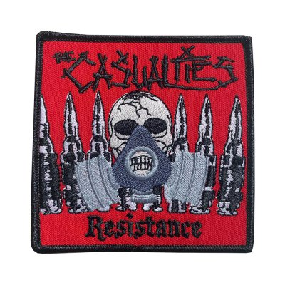 the-casualties - Resistance Gas Mask Patch