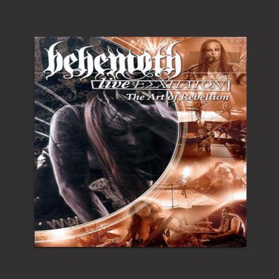 behemoth - Live Eschaton: The Art Of Rebellion CD