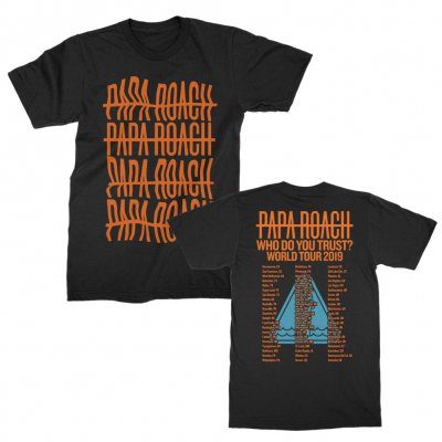 papa-roach - Clean Repeater Fade Tee (Black)