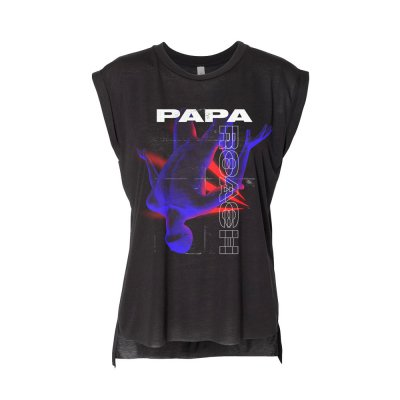 papa-roach - Floating Man Women's Tank (Black)