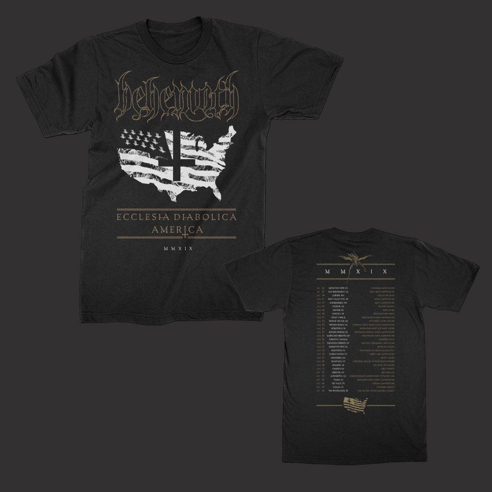 IMAGE   US 2019 Tour T-Shirt (Black)