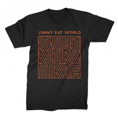 Surviving Cover Tee (Black)