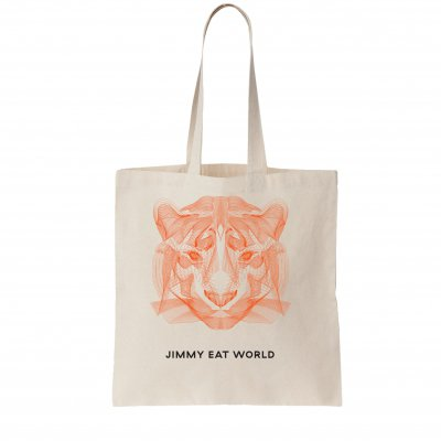 Tiger Lines Tote Bag (Natural)