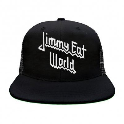 Priest Trucker Hat (Black)