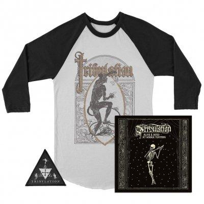 tribulation - Alive & Dead 2xCD/DVD + Raglan + Patch Bundle