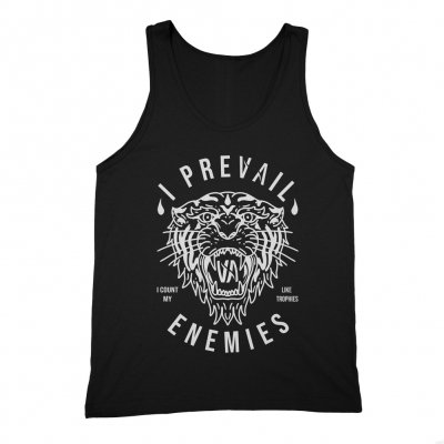 Enemies Tank Top (Black)