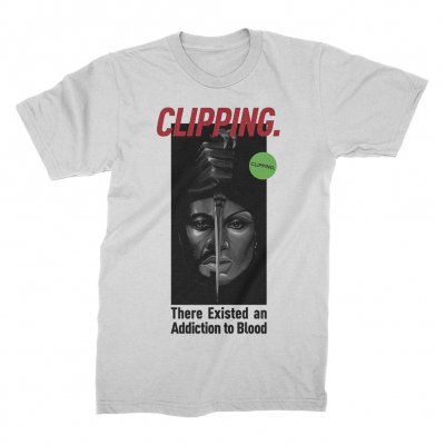 clipping - Blood Couple T-Shirt (White)