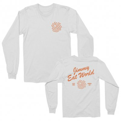 jimmy-eat-world - Painter Long Sleeve Tee (White)