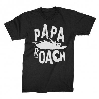 papa-roach - Classic Logo Tee (Black)