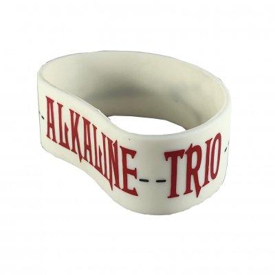 alkaline-trio - Scissors Rubber Bracelet (White)