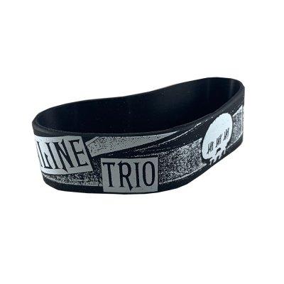 alkaline-trio - Rubber Bracelet Black
