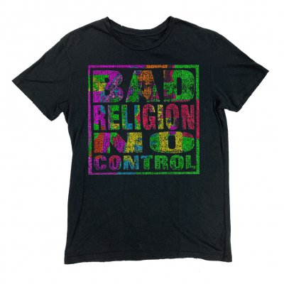 bad-religion - No Control Vintage Tee (Black)