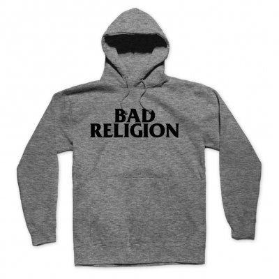 bad-religion - Logo Pullover Hoodie (Grey)