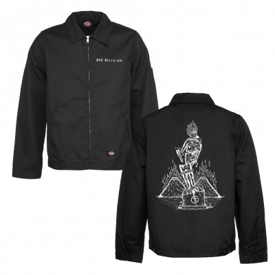 bad-religion - Statue Eisenhower Jacket (Black)
