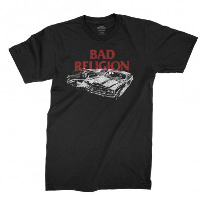 bad-religion - Crash Tee (Black)