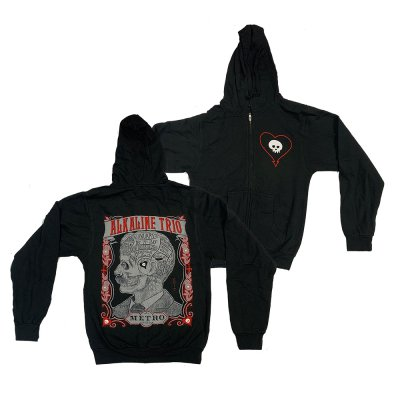 alkaline-trio - Metro Zip Up (Black)