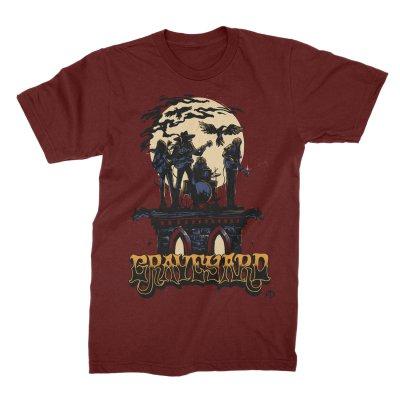 IMAGE | Moonband T-Shirt (Burgundy)