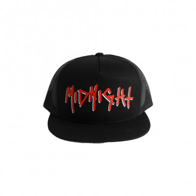 midnight - Two Tone Logo Foam Trucker Hat