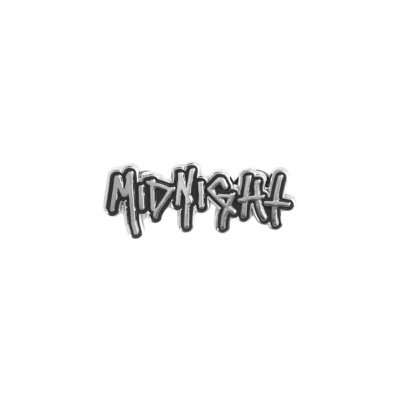 midnight - Chrome Logo Enamel Pin