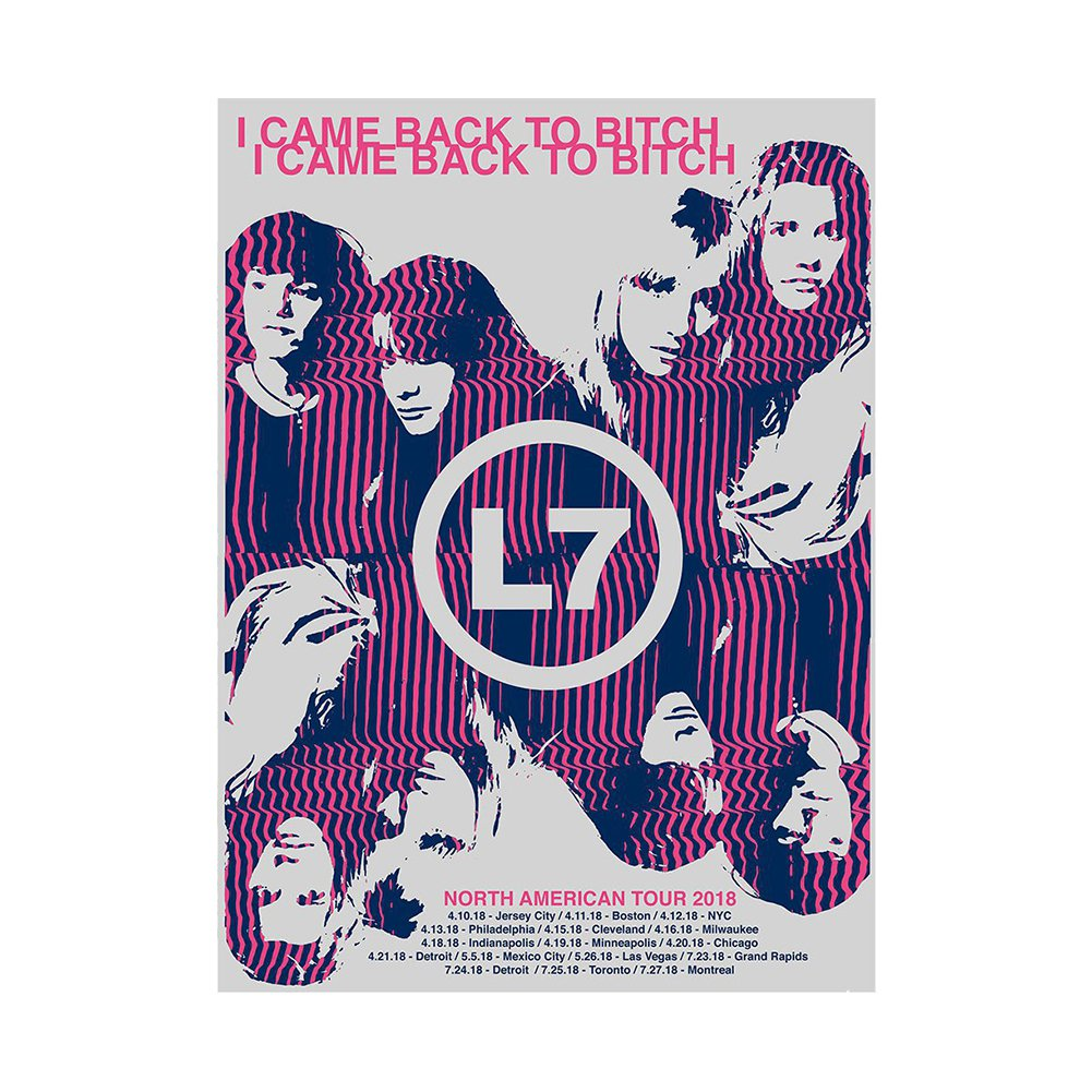 IMAGE | Back To Bitch 2018 Tour Poster