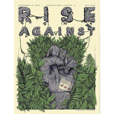 rise-against - Riot Fest 2019 Poster