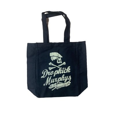 dropkick-murphys - Scally Skull Tote (Black)
