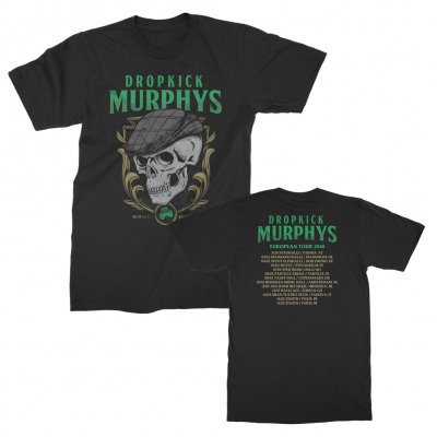 dropkick-murphys - Scally Skull Summer 2018 Tour Tee (Black)