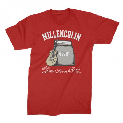 millencolin - Home From Home T-Shirt (Cherry Red)