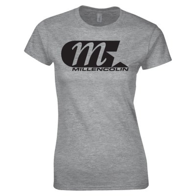 M Star Women's T-Shirt (Heather Grey)