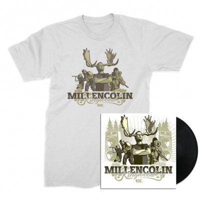 millencolin - Kingwood LP (Black) + Tee (White) Bundle