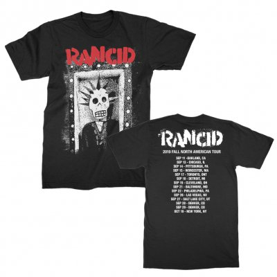 rancid - Amigo 2019 Fall Tour T-Shirt (Black)