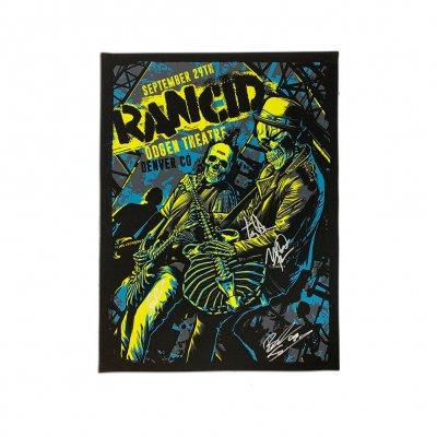 rancid - Denver 2019 Poster (Signed)