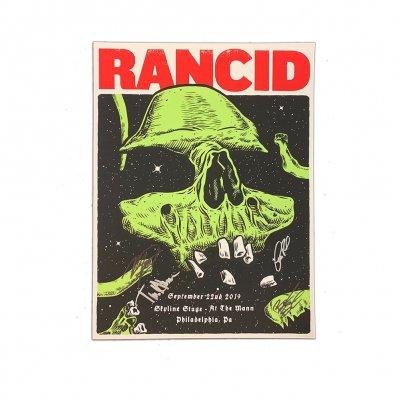 rancid - Philadelphia 2019 Poster (Signed)