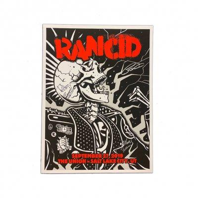rancid - Salt Lake City 2019 Poster (Signed)