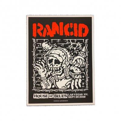 rancid - Las Vegas 2019 Poster