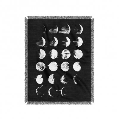 converge - AWLWLB Moon Cycle Woven Blanket