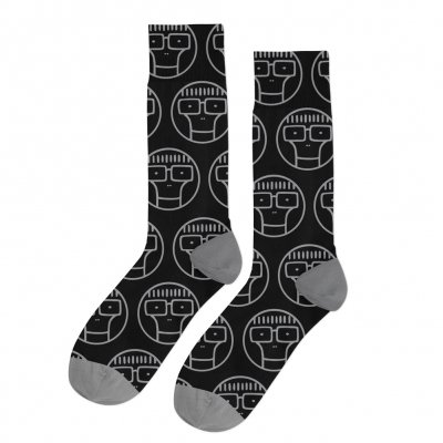 descendents - Circle Milo Socks (Black/Gray)