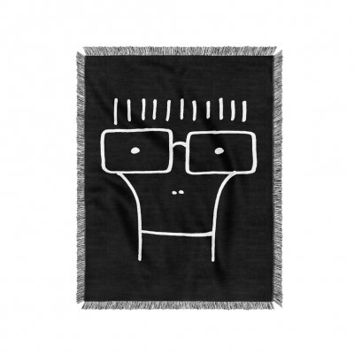 descendents - Milo Woven Blanket (Black)