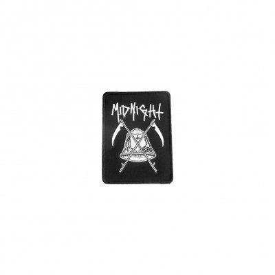 midnight - Bell Embroidered Patch