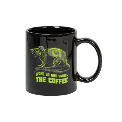 Scatter The Rats Coffee Mug (Black)