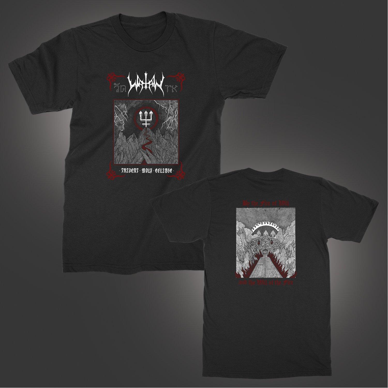IMAGE   Trident Wolf Eclipse T-Shirt (Black)